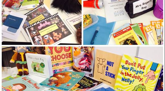 EYFS image- Early years literacy resources triumverate