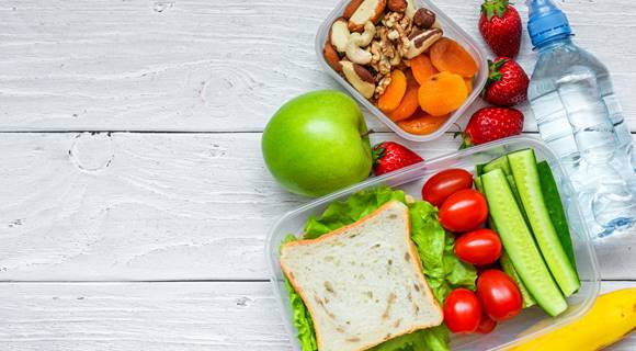 PSHE Healthy Lunch box