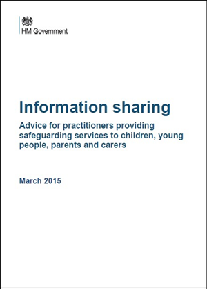 information sharing advice for practitioners