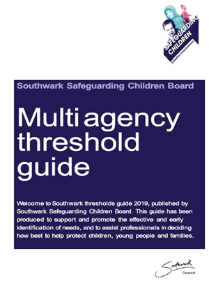 Southwark Threshold of needs 2019